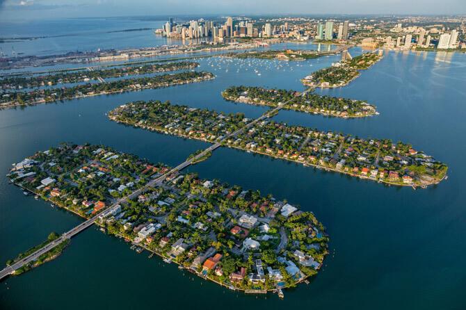 Venetian Causeway Miami Beach